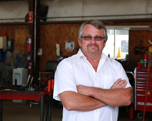 Jerry Johnson, Owner of Johnson's Transmission & Auto Service in Dunn, NC